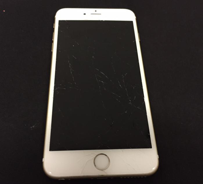 iPhone6Plus 画面割れ